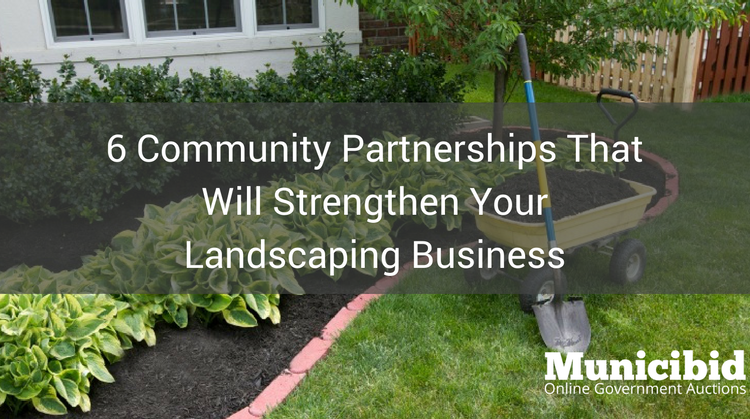 6 Community Partnerships That Will Strengthen Your Landscaping Business