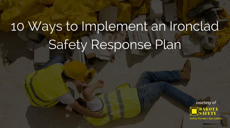 safety response plan