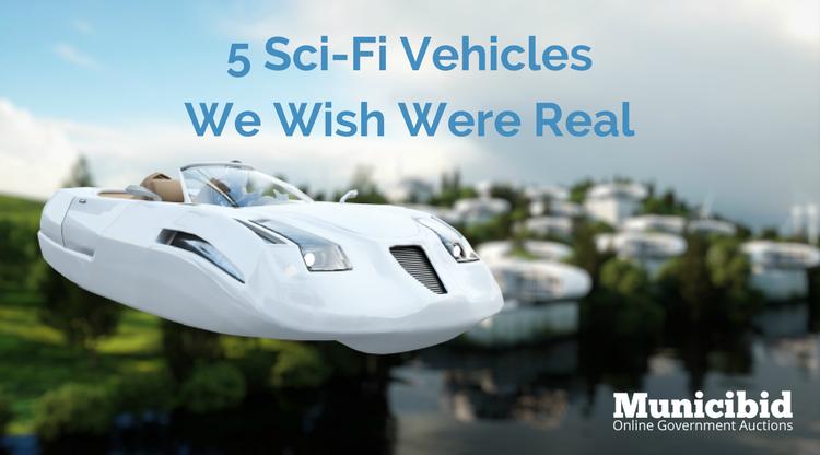 5 Sci-Fi Vehicles We Wish Were Real