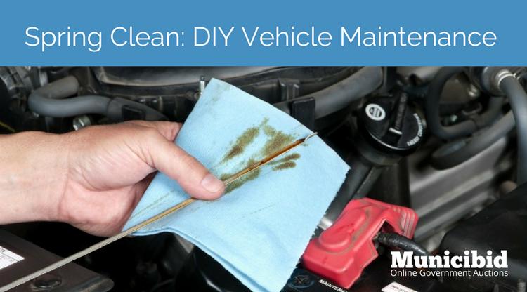 Spring Clean: DIY Vehicle Maintenance