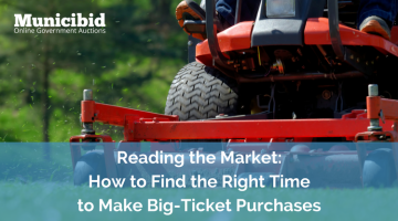 Reading the Market: How to Find the Right Time to Make Big-Ticket Purchases