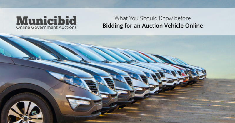 bid auction vehicle online