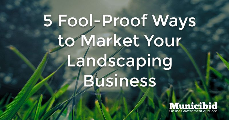 market landscaping business