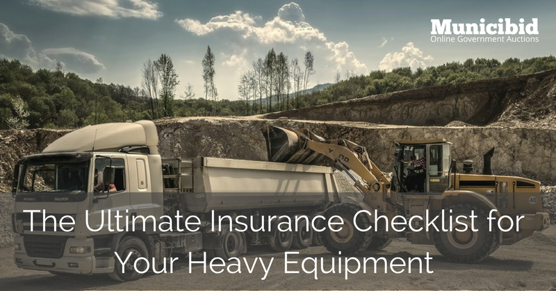 heavy equipment insurance