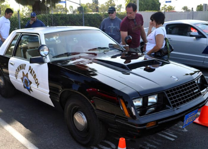 Early 1980s Ford Mustang Police Car